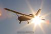 Cessna 206 by the sun. 11/29/09
