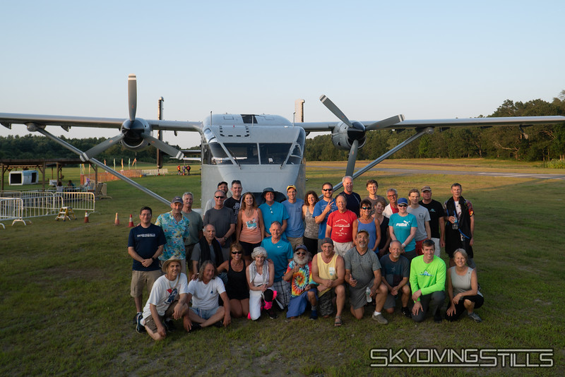 """The whole group. Photo by... <br><span class=""""skyfilename"""" style=""""font-size:14px"""">2019-08-02_skydive_pepperell_1049</span>"""