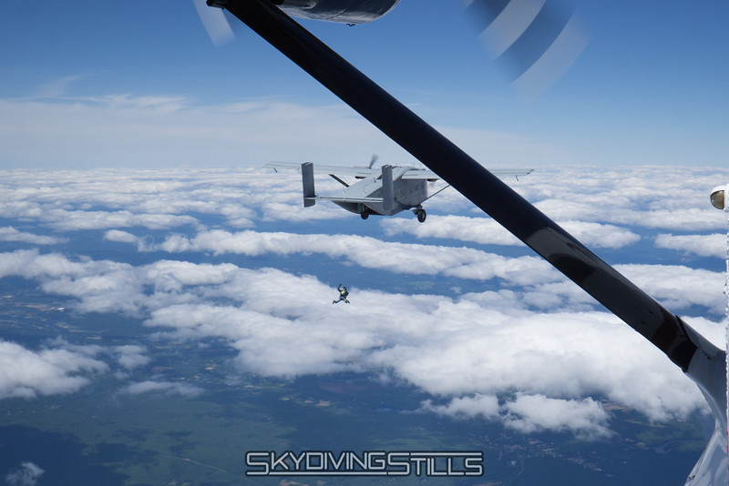 """Chico exits the Skyvan. <br><span class=""""skyfilename"""" style=""""font-size:14px"""">2016-07-02_skydive_jumptown_0025</span>"""
