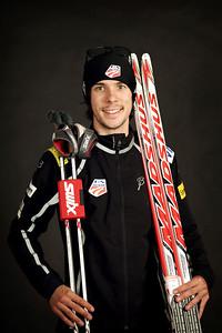 Brett Denney 2012-13 U.S. Nordic Combined Ski Team Photo: Sarah Brunson/U.S. Ski Team