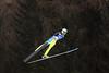 Johnny Spillane<br /> Individual Gundersen HS 134 Jump<br /> 2013 FIS Nordic World Ski Championships in Val di Fiemme, Italy<br /> Photo: Sarah Brunson/U.S. Ski Team