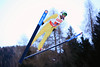 Billy Demong<br /> Nordic Combined Team Sprint HS 134 Jump<br /> 2013 FIS Nordic World Ski Championships in Val di Fiemme, Italy<br /> Photo: Sarah Brunson/U.S. Ski Team