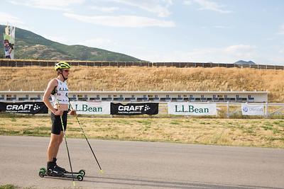 Adam Loomis 2016 L.L. Bean U.S. Nordic Combined Championships at Soldier Hollow, Midway, UT Rollerski 10K Photo: U.S. Ski Team