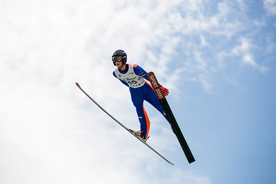 Kevin Bickner 2016 L.L. Bean U.S. Nordic Combined Championships at the Utah Olympic Park, Park City, UT Ski Jumping: HS-134 Photo: U.S. Ski Team