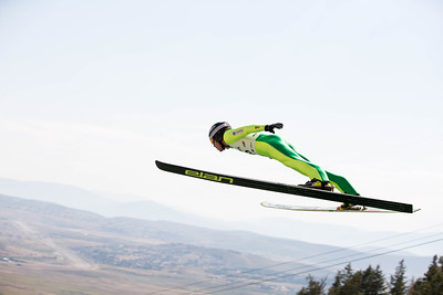 Rogan Reid 2016 L.L. Bean U.S. Nordic Combined Championships at the Utah Olympic Park, Park City, UT Ski Jumping: HS-134 Photo: U.S. Ski Team