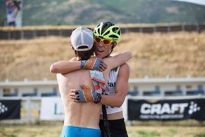 Mike Ward and Ben Berend 2016 L.L. Bean U.S. Nordic Combined Championships at Soldier Hollow, Midway, UT Rollerski 10K Photo: U.S. Ski Team