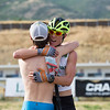 Mike Ward and Ben Berend<br /> 2016 L.L. Bean U.S. Nordic Combined Championships at Soldier Hollow, Midway, UT<br /> Rollerski 10K<br /> Photo: U.S. Ski Team