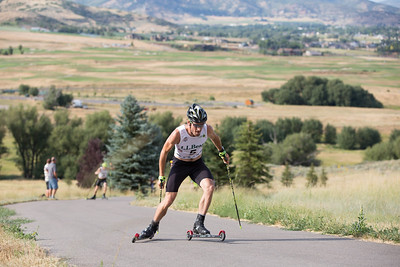 Taylor Fletcher 2016 L.L. Bean U.S. Nordic Combined Championships at Soldier Hollow, Midway, UT Rollerski 10K Photo: U.S. Ski Team