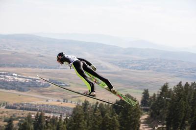 Ben Kaiser 2016 L.L. Bean U.S. Nordic Combined Championships at the Utah Olympic Park, Park City, UT Ski Jumping: HS-134 Photo: U.S. Ski Team