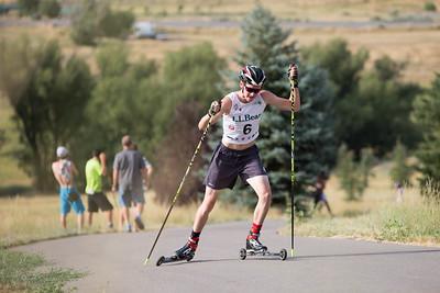 2016 L.L. Bean U.S. Nordic Combined Championships at Soldier Hollow, Midway, UT Rollerski 10K Photo: U.S. Ski Team