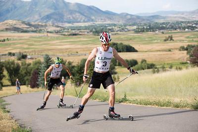 Bryan Fletcher 2016 L.L. Bean U.S. Nordic Combined Championships at Soldier Hollow, Midway, UT Rollerski 10K Photo: U.S. Ski Team