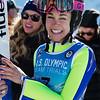 Sarah Hendrickson<br /> Ski Jumping<br /> 2018 U.S. Oympic Team Trials at the UOP<br /> Photo: U.S. Ski & Snowboard