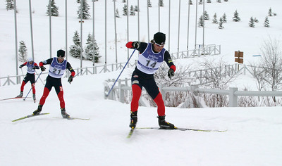 Brett Camerota (14) Eric Camerota (21), World Cup B Nordic Combined, Soldier Hollow, UT
