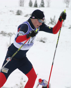 Keate Skyler, World Cup B Nordic Combined, Soldier Hollow, UT
