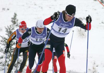 Brett Camerota, World Cup B Nordic Combined, Soldier Hollow, UT