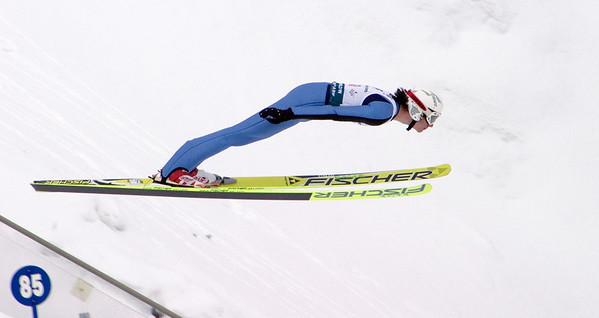 Nick Alexander - 2008 backcountry.com U.S. Ski Jumping Championships, HS134 large hill. Photo: Tom Kelly/U.S. Ski Team