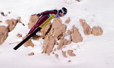 Jessica Jerome - 2008 backcountry.com U.S. Ski Jumping Championships, HS134 large hill. Photo: Tom Kelly/U.S. Ski Team