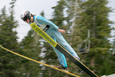 The best women's ski jumpers in the world took part in the Visa Women's International Ski Jumping Festival, a Continental Cup ski jumping event on the Olympic venue at the Utah Olympic Park in Park City, UT.