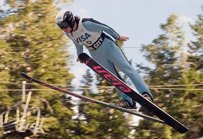 Brenna Ellis, Park City, UT, U.S. Ski Team - The best women's ski jumpers in the world took part in the Visa Women's International Ski Jumping Festival, a Continental Cup ski jumping event on the Olympic venue at the Utah Olympic Park in Park City, UT.