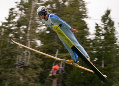 Alissa Johnson, Park City, UT, U.S. Ski Team - The best women's ski jumpers in the world took part in the Visa Women's International Ski Jumping Festival, a Continental Cup ski jumping event on the Olympic venue at the Utah Olympic Park in Park City, UT.