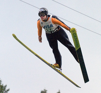 Lindsey Van, Park City, UT, U.S. Ski Team - The best women's ski jumpers in the world took part in the Visa Women's International Ski Jumping Festival, a Continental Cup ski jumping event on the Olympic venue at the Utah Olympic Park in Park City, UT.