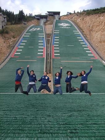 2007-08 Women Ski Jumpers
