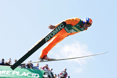 Bill Demong U.S. Ski Jumping Championships - Oct. 11, 2008 - Lake Placid, NY Photo © Kris Dobie Images in this gallery may be used only for editorial use with advance approval by USSA.