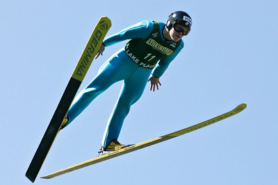 Lindsey Van  U.S. Ski Jumping Championships - Oct. 11, 2008 - Lake Placid, NY Photo © Kris Dobie Images in this gallery may be used only for editorial use with advance approval by USSA.