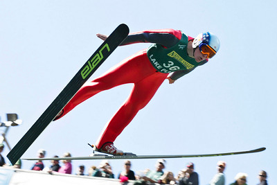 Willy Graves  U.S. Ski Jumping Championships - Oct. 11, 2008 - Lake Placid, NY Photo © Kris Dobie Images in this gallery may be used only for editorial use with advance approval by USSA.
