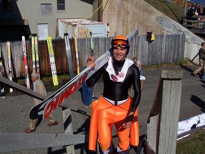 Bill Demong U.S. Ski Jumping Championships - Oct. 11, 2008 - Lake Placid, NY Photo © ORDA