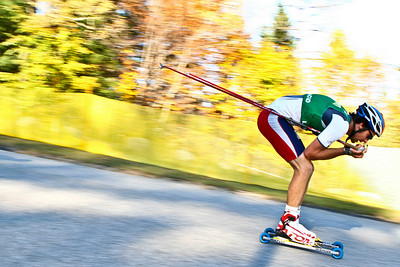 Johnny Spillane  U.S. Ski Jumping Championships - Oct. 11, 2008 - Lake Placid, NY Photo © Kris Dobie Images in this gallery may be used only for editorial use with advance approval by USSA.
