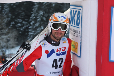 Johnny Spillane 2009 DKB FIS World Cup Nordic Combined Oberhof, Germany - Dec. 28, 2008 Photo © Egon Theiner/FIS