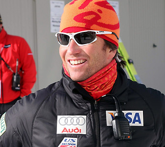 The U.S. Ski Team's Coach Dave Jarrett before a DKB FIS Nordic Combined World Cup in Klingenthal, Germany. (FIS-Egon Theiner)