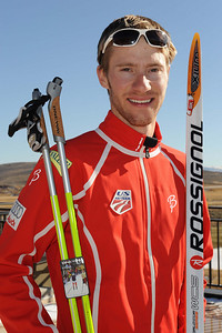 Alex Miller U.S. Nordic Combined Ski Team Photo © Scott Sine