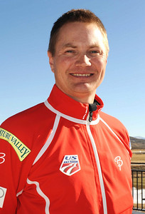 Chris Gilbertson U.S. Nordic Combined Ski Team Coach  Photo © Scott Sine