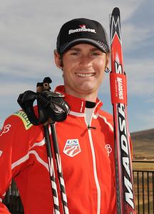 Brian Fletcher U.S. Nordic Combined Ski Team Photo © Scott Sine