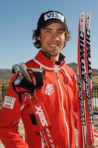 Johnny Spillan U.S. Nordic Combined Ski Team Photo © Scott Sine