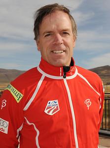 Greg Poirier  U.S. Nordic Combined Ski Team Coach  Photo © Scott Sine