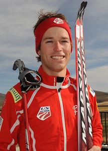 Brett Camerota U.S. Nordic Combined Ski Team Photo © Scott Sine