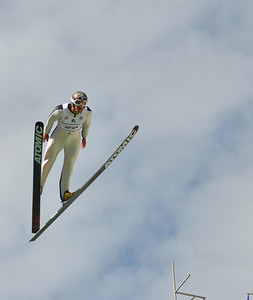 Todd Lodwick competes at the 2011 backcountry.com U.S. Ski Jumping and Nordic Combined Championships at the Utah Olympic Park. Normal Hill, July 30, 2010 Photo: Katie Perhai/U.S. Ski Team