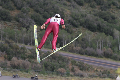 Nick Hendrickson competes at the 2011 backcountry.com U.S. Ski Jumping and Nordic Combined Championships at the Utah Olympic Park. Normal Hill, August 1, 2010 Photo: Marvin Kimble/U.S. Ski Team