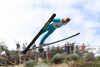 Brett Camerota competes at the 2011 backcountry.com U.S. Ski Jumping and Nordic Combined Championships at the Utah Olympic Park. Normal Hill, August 1, 2010 Photo: Marvin Kimble/U.S. Ski Team