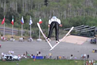 Bill DeMong competes at the 2011 backcountry.com U.S. Ski Jumping and Nordic Combined Championships at the Utah Olympic Park. Normal Hill, August 1, 2010 Photo: Marvin Kimble/U.S. Ski Team
