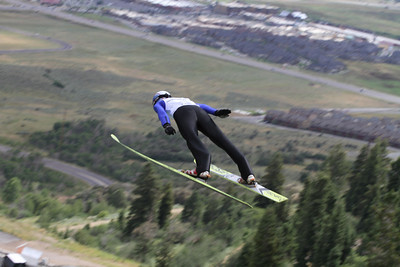 2011 backcountry.com U.S. Ski Jumping and Nordic Combined Championships at the Utah Olympic Park. Normal Hill, August 1, 2010 Photo: Marvin Kimble/U.S. Ski Team