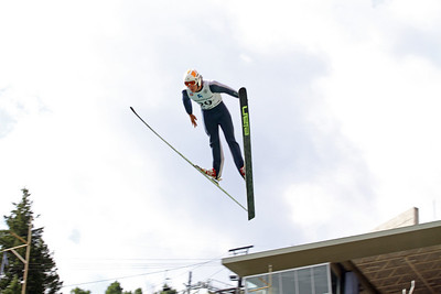 Brett Denney competes at the 2011 backcountry.com U.S. Ski Jumping and Nordic Combined Championships at the Utah Olympic Park. Normal Hill, August 1, 2010 Photo: Marvin Kimble/U.S. Ski Team