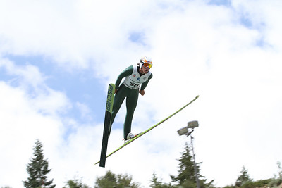 Anders Johnson competes at the 2011 backcountry.com U.S. Ski Jumping and Nordic Combined Championships at the Utah Olympic Park. Normal Hill, August 1, 2010 Photo: Marvin Kimble/U.S. Ski Team