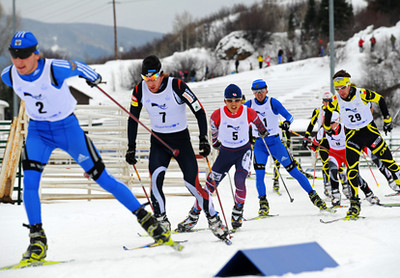 2010 Continental Cup combined in Steamboat. Photo © Mike Lane Image may be used for editorial purposes only.