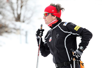 2011-12 Nordic Team  Coach Dave Jarrett Photo: Sarah Brunson/U.S. Ski Team