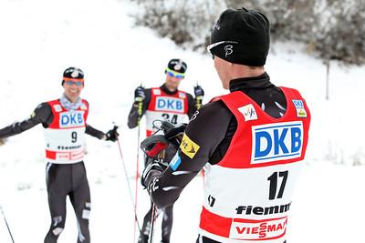 2011-12 Nordic Team  Bryan Fletcher, Taylor Fletcher, Billy Demong Photo: Sarah Brunson/U.S. Ski Team
