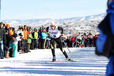 Taylor Fletcher 2014 Olympic Team Trials for Nordic Combined at Utah Olympic Park, Park City Cross Country Photo: Sarah Brunson/U.S. Ski Team